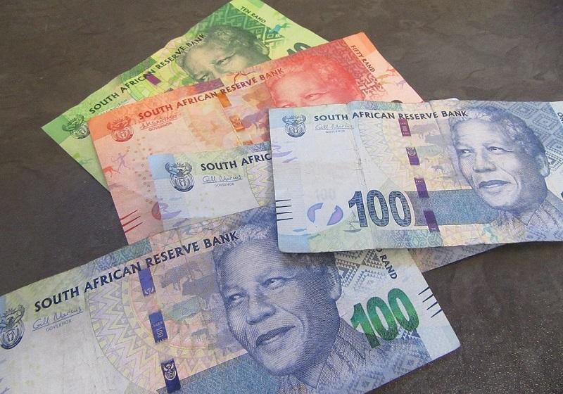 Como levar randes para a África do Sul