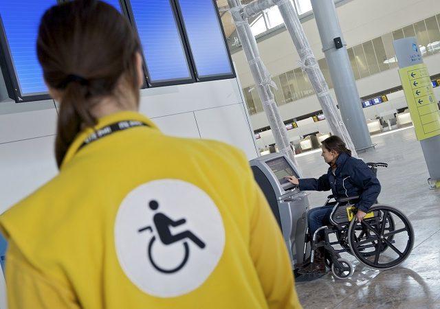 Deficientes físicos na África do Sul
