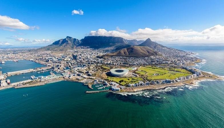 Vista cinematográfica da África do Sul
