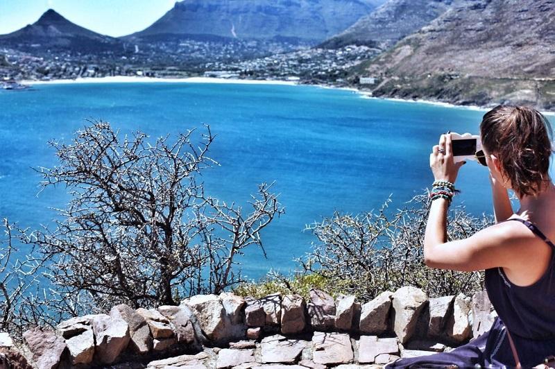 Foto da vista de Cape Point - Cidade do Cabo