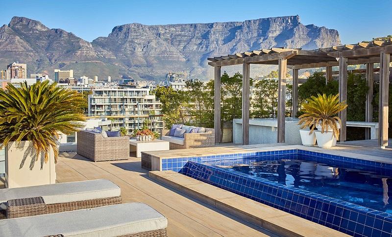 Hotel com piscina na África do Sul