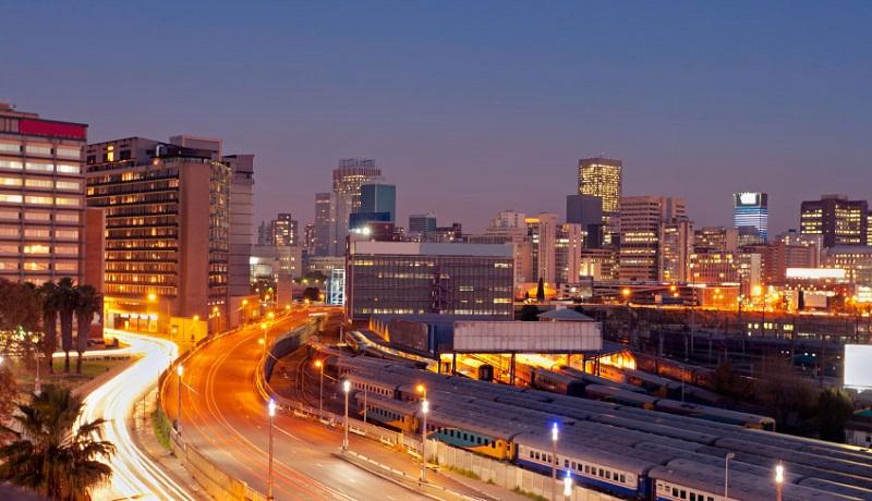 Noite em Joanesburgo - África do Sul