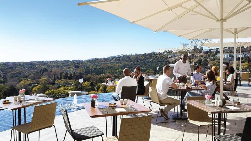 Restaurante The View em Joanesburgo