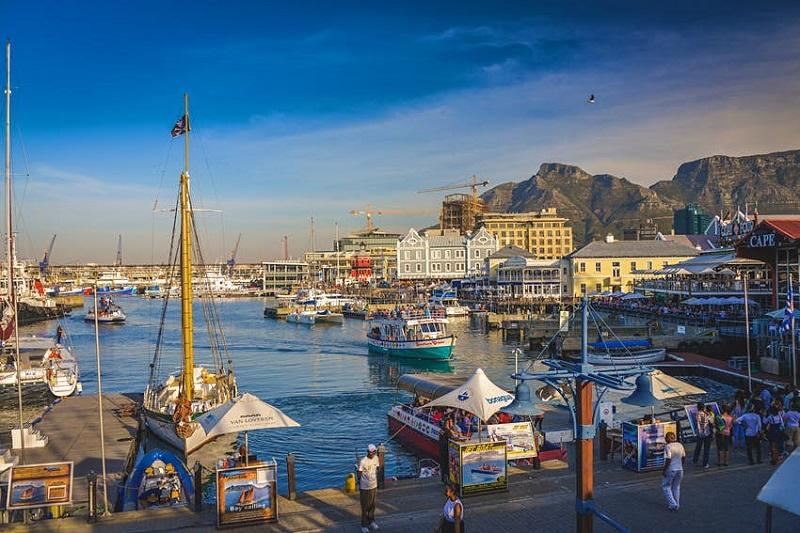 Waterfront na Cidade do Cabo