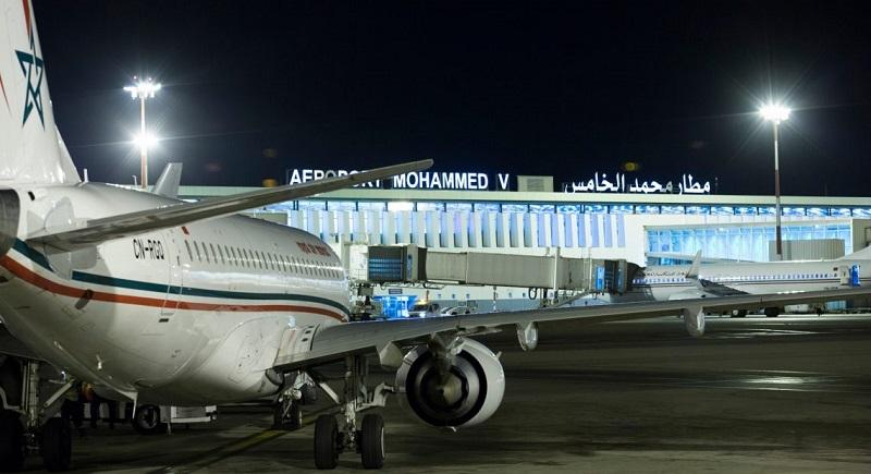 Aeroporto de Casablanca no Marrocos