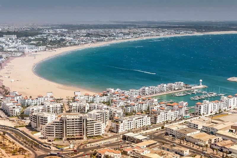 Agadir no Marrocos