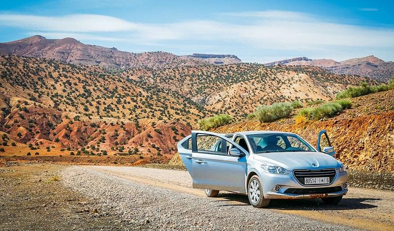 Carro no Marrocos