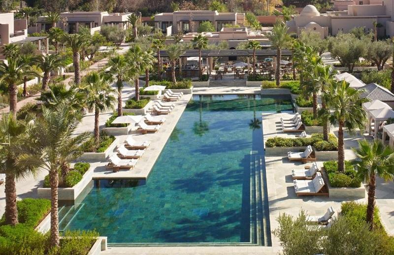 Hotel Four Seasons em Marrakech no Marrocos