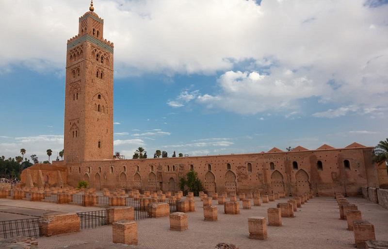 Praça Jamaa el Fna em Marrakech
