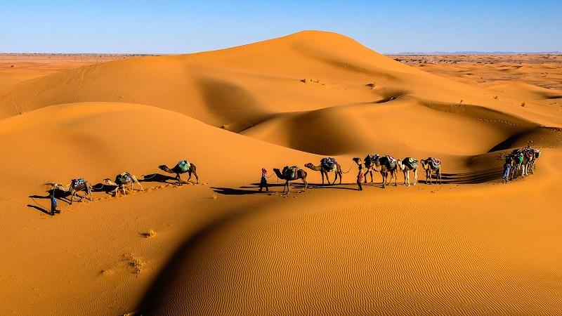 Passeio pelo Marrocos