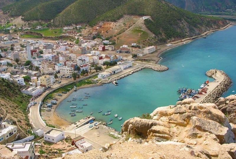 Praia no Marrocos