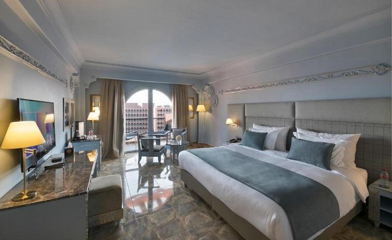 Quarto de hotel em Marrakech no Marrocos
